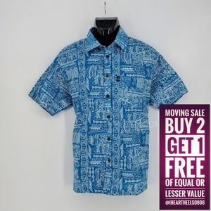 Awesome Men's Short Sleeve Fiji Shirt L NWT